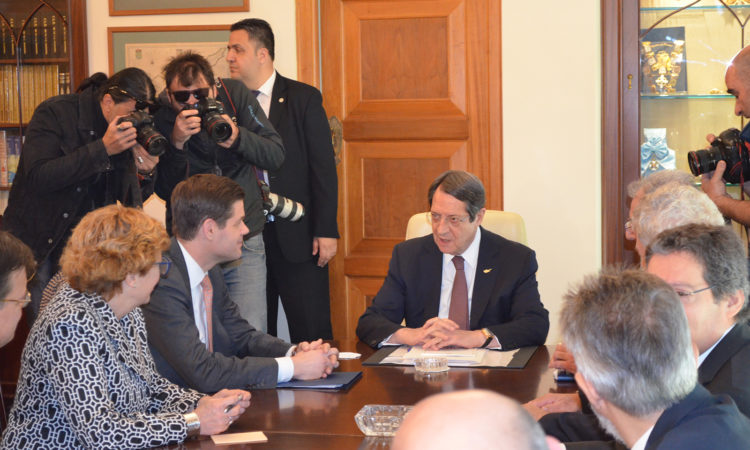 Assistant Secretary Mitchell statement following his meeting with President Anastasiades