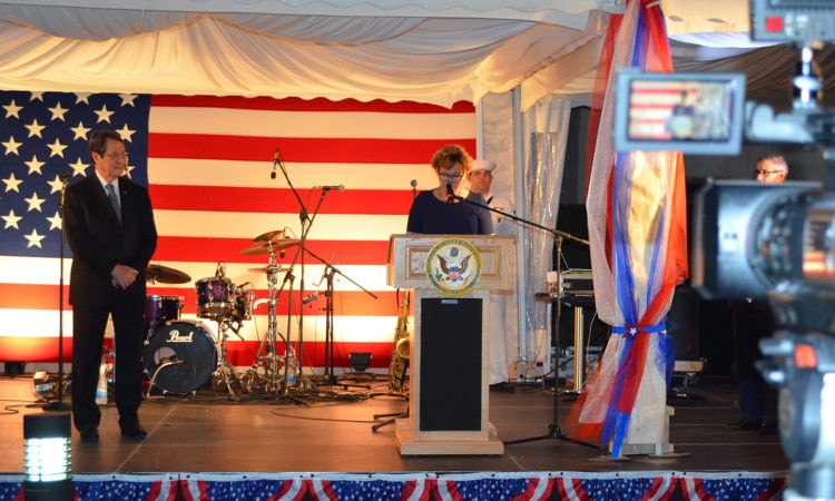 Ambassador Doherty delivers remarks at the Independence Day Reception